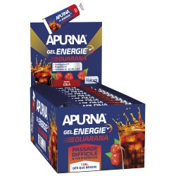 Présentoir Gel Energie Passage difficile Guarana Cola