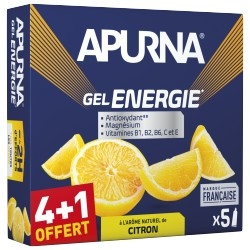 Gel Energie Citron 4+1