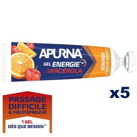 Gel Energie Passage difficile Acérola Orange x5